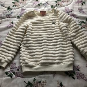 Girls Juicy Couture Faux Fur Sweater